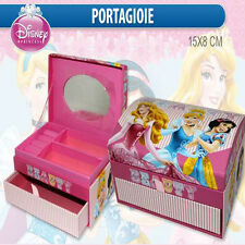 Brings joy small trunk carton PRINCESSES c/mirror magazines drawer