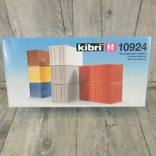 KIBRI 10924 - H0 - 20 Fuß Container Set - OVP - #AM46095