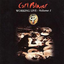 CARL PALMER - WORKING LIVE, VOL. 1 NEW CD