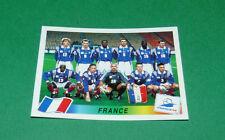 N°156 EQUIPE FRANCE PANINI FOOTBALL FRANCE 98 1998 COUPE MONDE WM