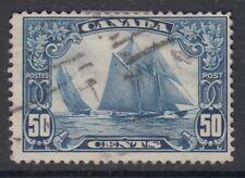"# Canada Scott #158 50 cent Bluenose ""Scroll""   F"
