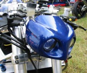 MGM BIKES LM 54 Lampenmaske Streetfighter Maske