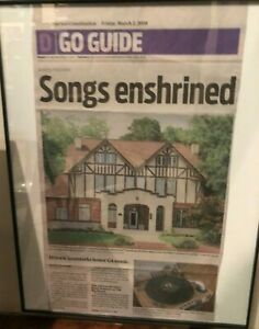 allman brothers  big house article framed out of dougs allman cave
