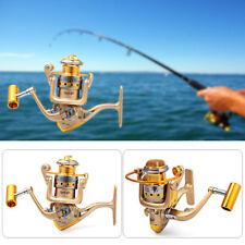 HF1000-7000 Metal Spool Spinning Fishing Reel Folding Arm 10 Ball Bearing 5.5:1