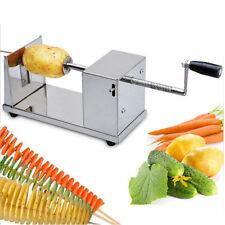 GS 1 Edelstahl Kartoffel Spiralschneider Spiral Schneider Chips Slicer Twister