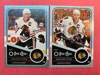 2011-12 O Pee Chee Base + Silver Parallel #29 Jonathan Toews Chicago Blackhawks