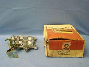 17111199 1985 Chevrolet C10 K20 Truck G10 4.3N Throttle Body Rochester 4 Bbl