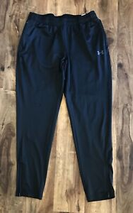 Under Armour Fitted Womens Black Athletic Pants Sz M