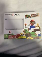 Nintendo 3DS XL Super Mario 3D Land White Handheld System