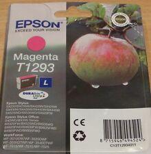 GENUINE EPSON T1293 Magenta (red) cartridge vacuum sealed ORIGINAL OEM APPLE ink
