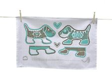 Puppy Love Tea Towel - cut out, make and keep design! by Pintuck