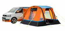 Cubo Breeze Inflatable Campervan Awning Orange and Black