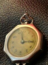 Watch Ladies Swiss Gold Filled 15J Runs Antique Hafis W . Co Pendant Pocket