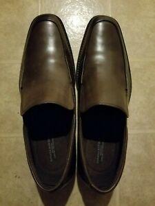 Banana Republic Men's Chocolate Brown Foster Dress Loafer Shoe Size 11.5