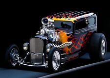 Hot Rod Car Photo Poster Print ONLY Wall Art A4