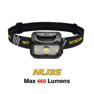 NiteCore NU35 Cree XP-G3 S3 LED Dual Power Hybrid Working Headlamp Headlight