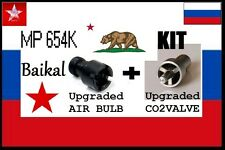 MP654K IZH Russia KIT UPGRADED AIR BULB + UPGRADED VALVE