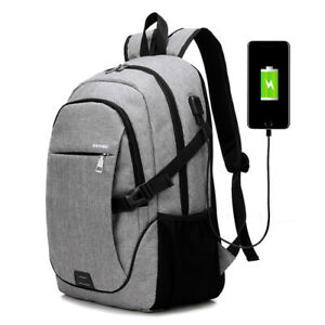 Male Backpack Bag 15.6 Inch Laptop Travel Backpack Teenagers Notebook School Bag