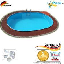 Einbaupool 8,70 x 4,00 x 1,50 m Einbaubecken Gartenpool Oval pool Ovalpool Pools