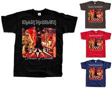 IRON MAIDEN Dance of Death ver. 1 T-Shirt (Black, brown, red, navy) S-5XL