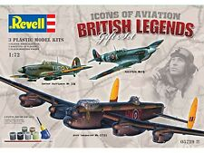 Revell British Legends Gift Set 1:72 Scale  (05729) Plastic Model Kit