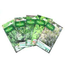 Pack de 5 sachets graines aromatiques -  Thym - Oseille - Persil - Menthe - Roma
