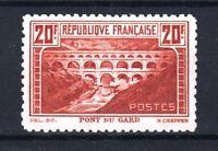 "FRANCE STAMP TIMBRE 262 B "" PONT GARD 20F CHAUDRON DENTELE 11 "" NEUF TTB T383"