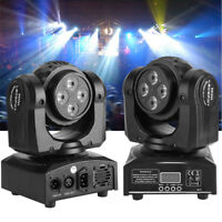 Double Sides 90W Stage Lighting RGBW LED Beam Moving Head DJ Disco Lights Club A