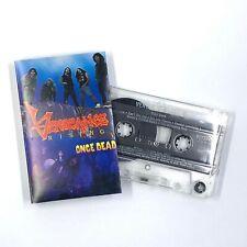VENGEANCE RISING Once Dead Cassette Tape 1990 Thrash Metal Rare