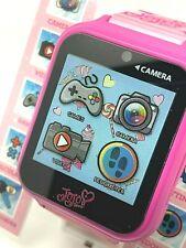 JoJo Siwa Interactive Kids Smart Watch Pink Camera USB Video Touch Screen Games