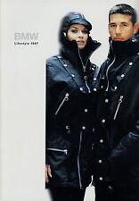 Catálogo bmw Lifestyle 1997 accesorios ropa de moda chaqueta de cuero City camisa camiseta