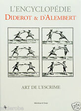 DIDEROT/d'Alembert 1700s FENCING in FRANCE Equipment/Methods RARE w/PLATES L@@K!