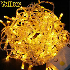 100/200/ 300/400/600 LED Lichterkette Weihnachten Party Lampe bunt