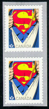 Canada Superman Postage Stamps Valid Forever!