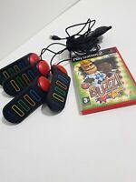 Buzz Sports Quiz + Buzzers (Sony PlayStation 2, 2006) PS2