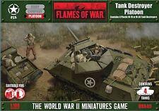 Flames of War - WW II Miniatures Game - US Tank Destroyer Platoon