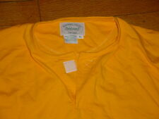 Vintage Marshall Fields Field Sport Chicago Henley Shirt Cotton Sunflower Men XL