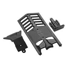 ARRMA AR320282 Skidplate Front/Rear/Center Set Nero