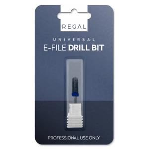 E-File Drill Bit Universal Fit - Small Barrel Smooth Top Bit - Medium M