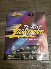 JOHNNY LIGHTNING TEAM LIGHTNING DIE-CAST METAL ROAD RODS DRACULA (BENT CARD)