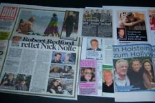 Nick Nolte 26 pc German Clippings Full Pages