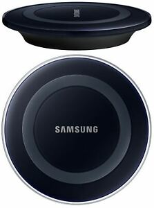 GENUINE OFFICIAL SAMSUNG BLACK QI FAST WIRELESS CHARGER CHARGING PAD