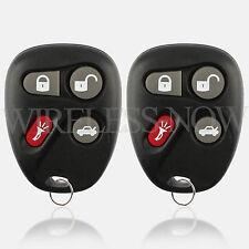 2 Car Key Fob Keyless Entry Remote For 2001 Chevrolet Malibu