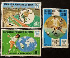 Timbre BENIN Stamp -Yvert et Tellier n°419 à 421 NSG (Ben1)