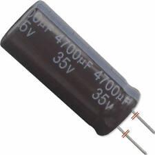 4 Stück Elko 105°C 4700µF 35V SEK105 Yageo Code 03/10 18x40mm (ØxL) RM-7,5 Rohs