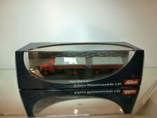 SCHUCO 03162 MAGIRUS S 6500 RUNDHAUBER TRUCK - RED 1:43 - EXCELLENT IN BOX