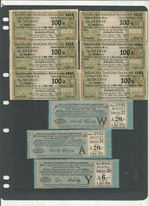 EARLY GERMAN BOND COLLECTION