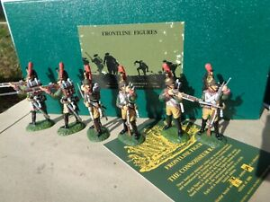 Frontline Figures, Napoleonic French Dismounted Dragoons firing & loading, BN
