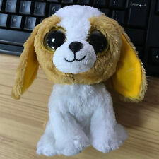 ty beanies boos Dog Cookie stuffed animal toy Solid eye