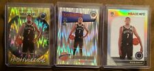 2019-20 Hoops Premium Kevin Durant High Voltage, Silver, & Flash Prizm Tribute